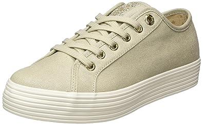 Damen 23622 Sneaker, Pink (Rose/Gold), 42 EU s.Oliver