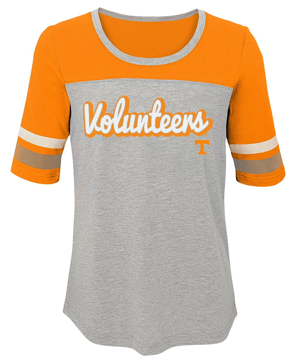 Youth Large Tennessee Orange 14 NCAA by Outerstuff NCAA Tennessee Volunteers Youth Girls Fan-Tastic Short Sleeve Tee