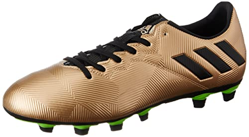 low priced 89f6a 90d39 Adidas Men s Messi 16.4 FxG Coppmt, Cblack and Sgreen Football Boots - 10  UK
