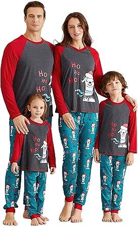 Yaffi Conjunto de pijama a juego para familia con diseño de ...