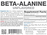 Hard Rhino Beta-Alanine Powder, 500 Grams