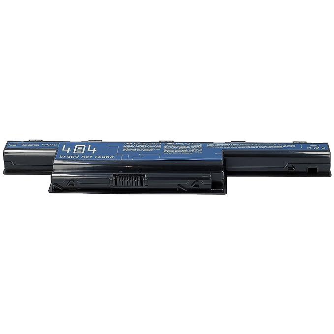 404Brand Batería del ordenador portátil para Packard Bell Easynote TM86-JO-010NL (10.8V, 4400 mAh, negro, 6 celdas): Amazon.es: Electrónica
