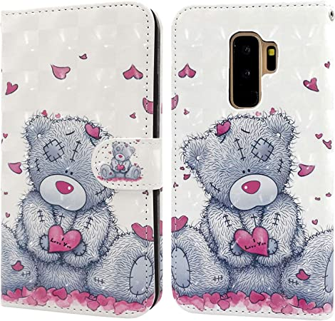 Ailisi Samsung Galaxy S9 Plus Hülle Teddy Bear 3d Elektronik