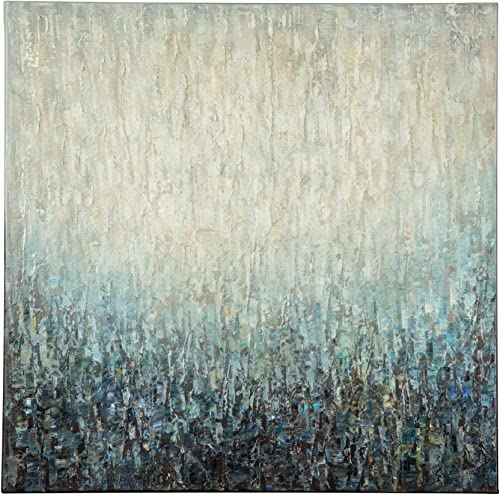 Ashley Furniture Signature Design – Pearl Ombre Wall Art – Contemporary – Blue