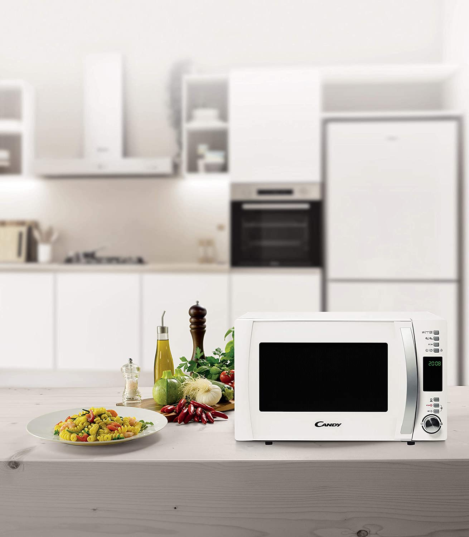 /Four micro-ondes avec grill et Cook in App Candy cmxg22dw/ couleur blanc 22/L 40/programmes automatiques 1250/W