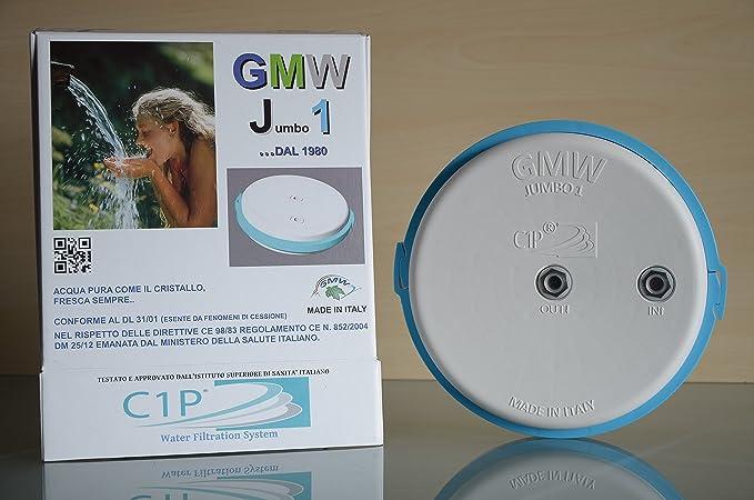 Gmw Filtro Agua – Kit linda listo instalación, completo de grifo 3 ...