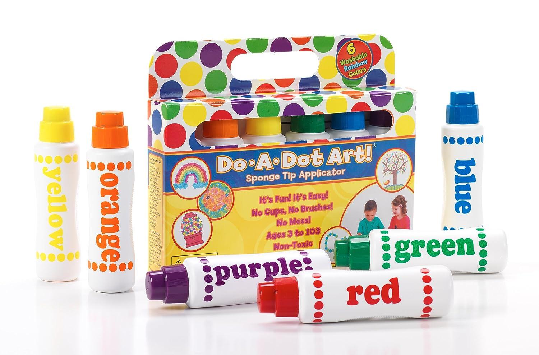 Amazon Com Washable Do A Dot Markers Set Of 36 Rainbow Paint Arts