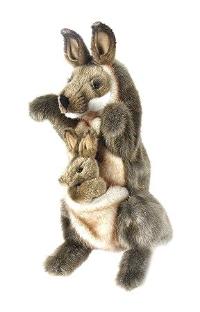 Hansa – Canguro de Peluche marioneta 35 CMH