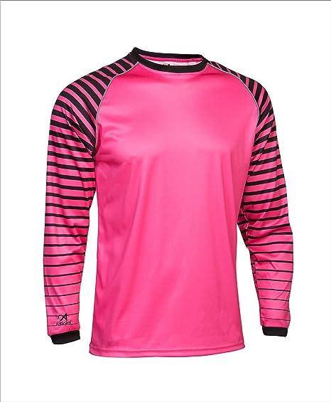 Asioka 157/17N Camiseta de Portero de Mangas Largas, Unisex niños, Verde (