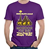 Mordor Fun Run Graphic Men T Shirt Short Sleeve Shirt