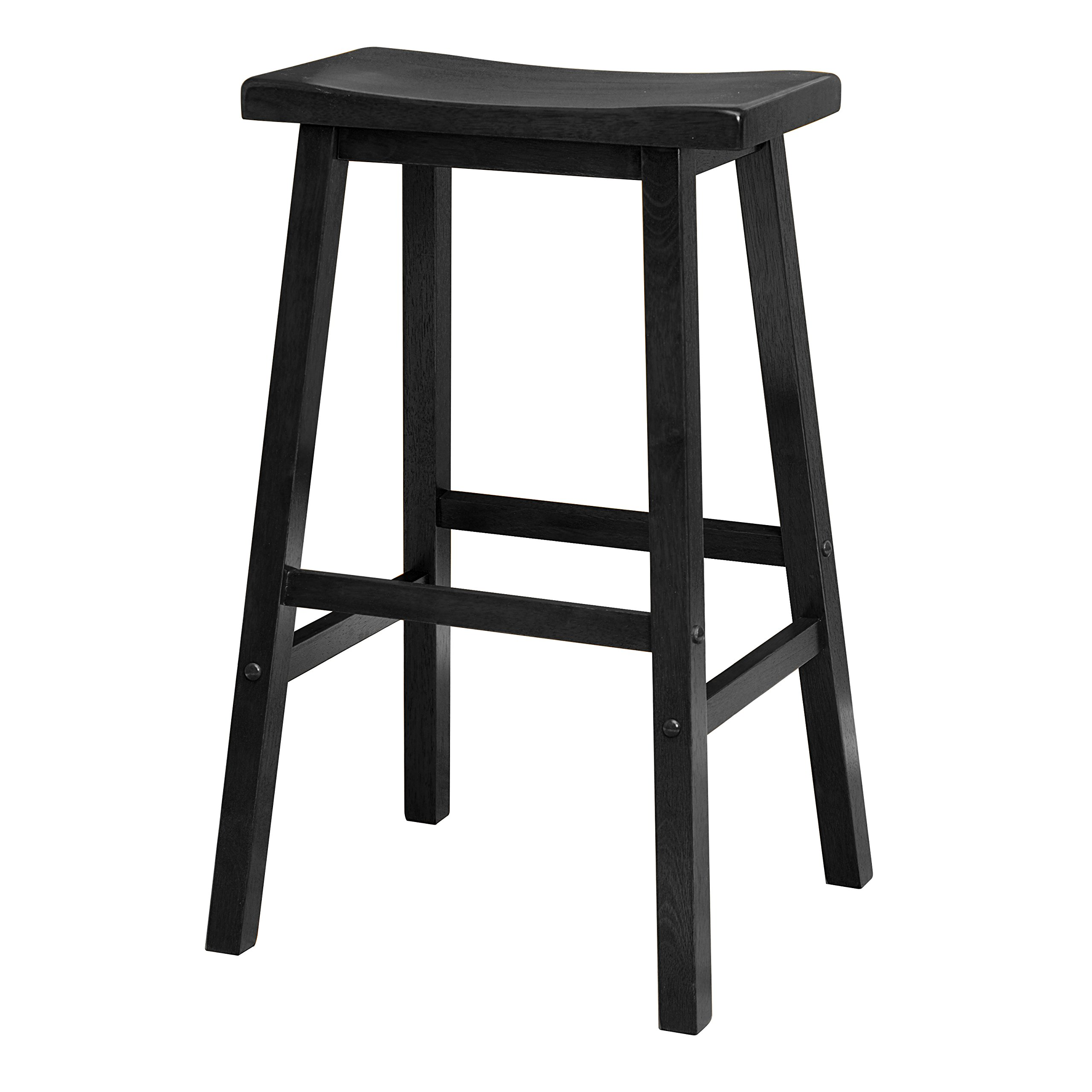 Winsome 20089 Satori Stool, 29'', Black by Winsome