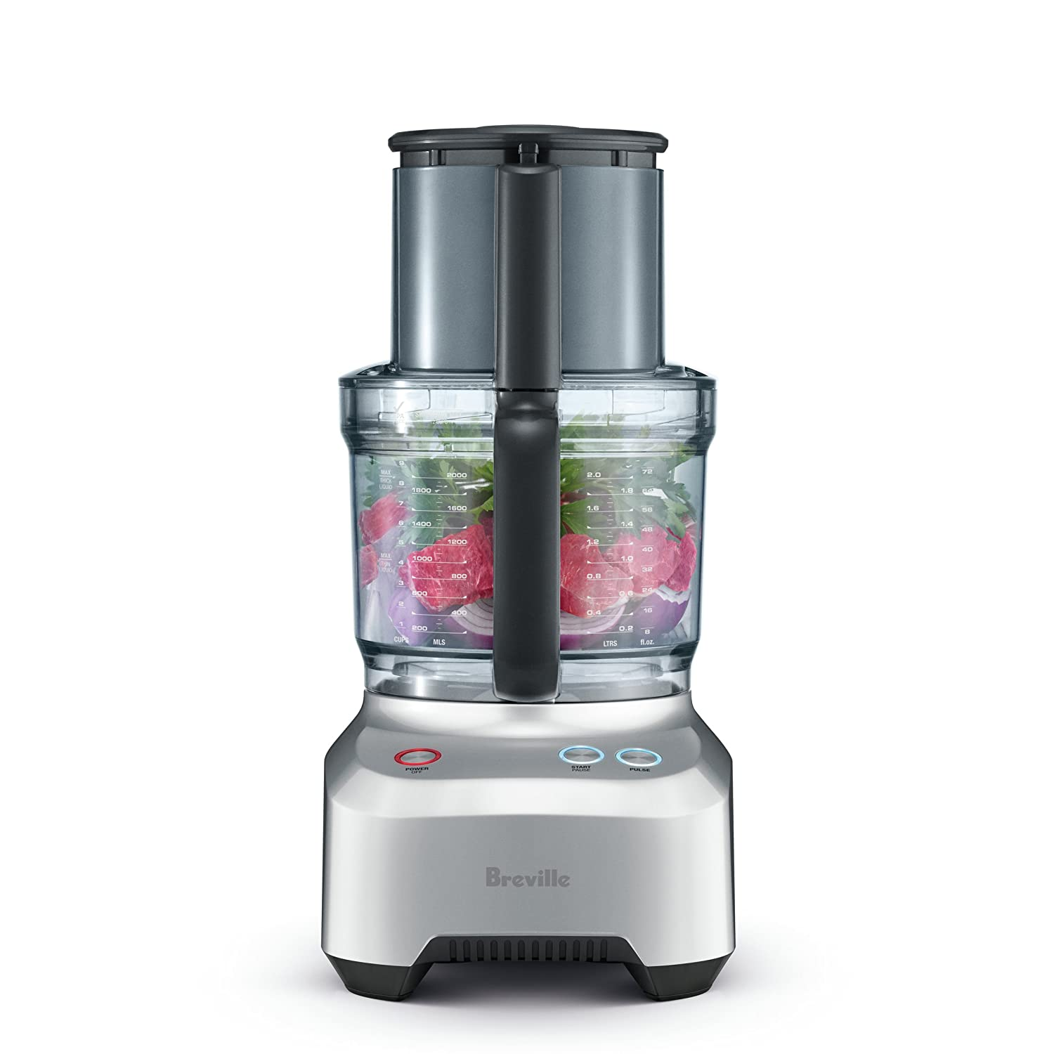 silver Breville BFP660SIL Sous Chef Food Processor