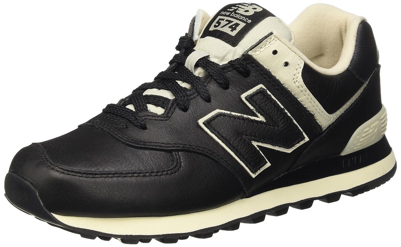 New Balance 574, Zapatillas para Hombre 44.5 EU Negro (Black)