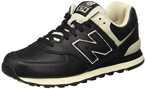 new balance 574 uomo leather