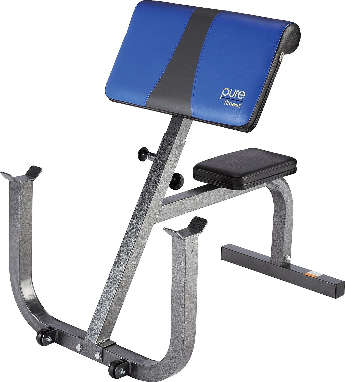 Pure Fitness Adjustable Preacher Bench