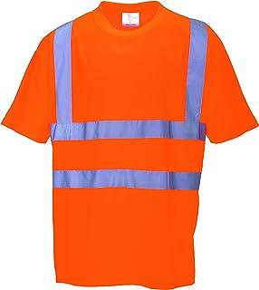 Portwest T-Shirt da lavoro alta visibilité', colore: arancione fluo/blu in 20471