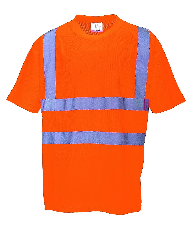PORTWEST RT23 - Warnschutz-T-Shirt nach GO/RT, 1 Stü ck, 5XL, orange, RT23ORR5XL
