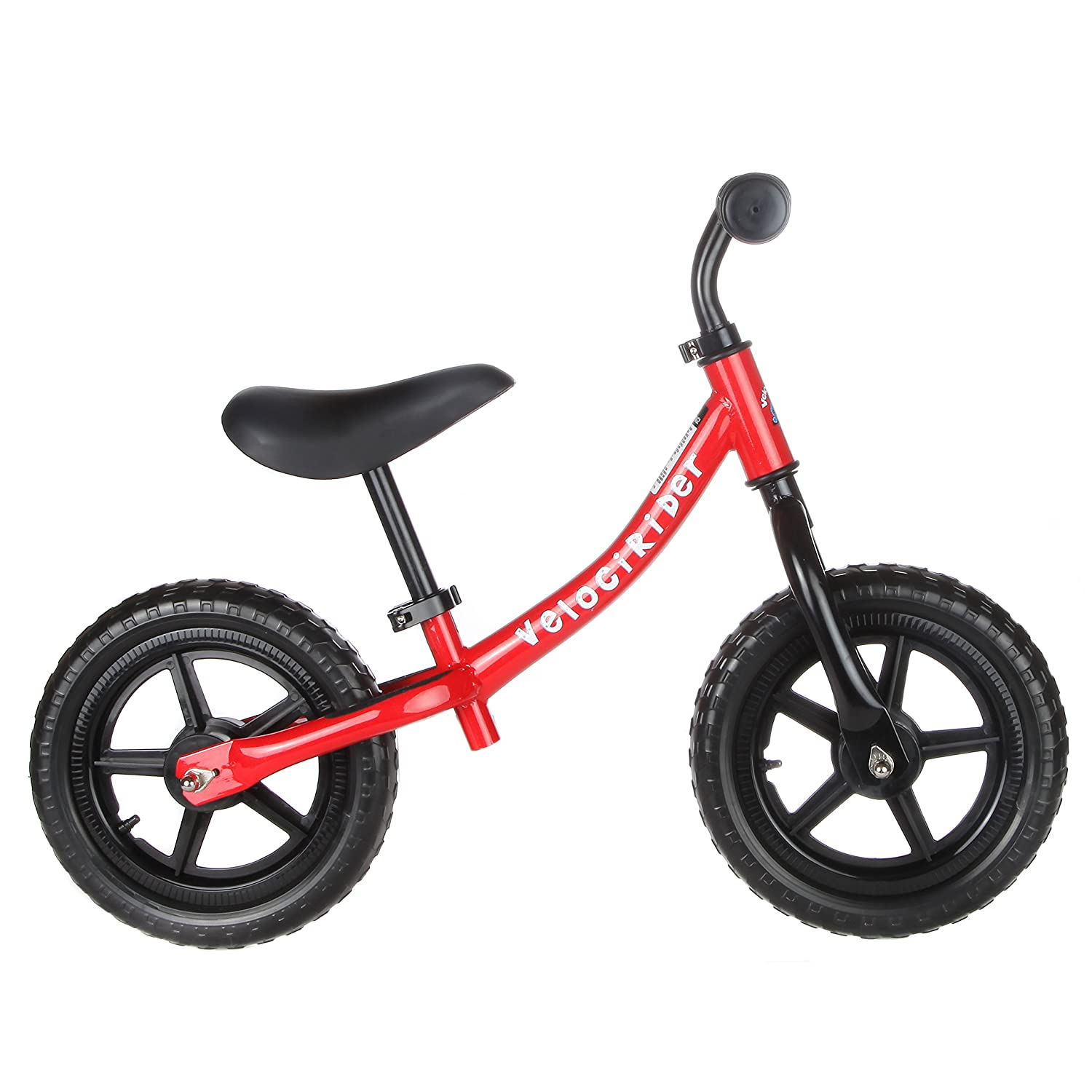 Best Balance Bike for Kids & Toddlers - Boys & Girls Self Balancing Bicycle with No Pedals is Perfect for Training Your 18 Month Old Child - Classic Run Bikes for Balance Training Fun & Easy (Red) Teddy Shake
