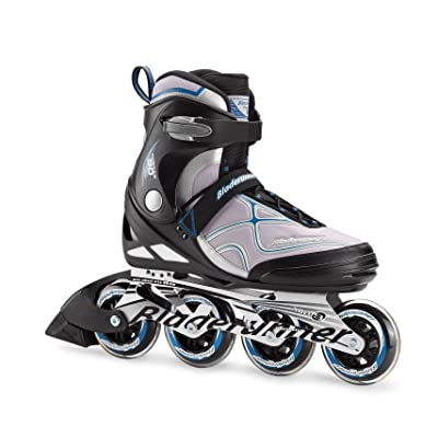 Bladerunner by Rollerblade Formula 90 Men's Adult Fitness Inline Skate, Black and Blue, Inline Skates : Sports & Outdoors