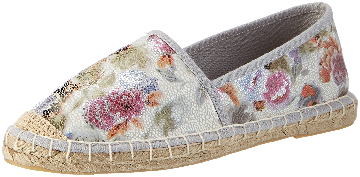 Jane Klain 242 453, Espadrillas Basse Donna  Multicolore (White Multi)