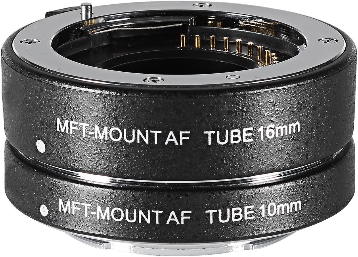 MACRO Close-Up Lens Extension Tube SET for Four Thirds 4//3 FT mount Olympus Panasonic camera