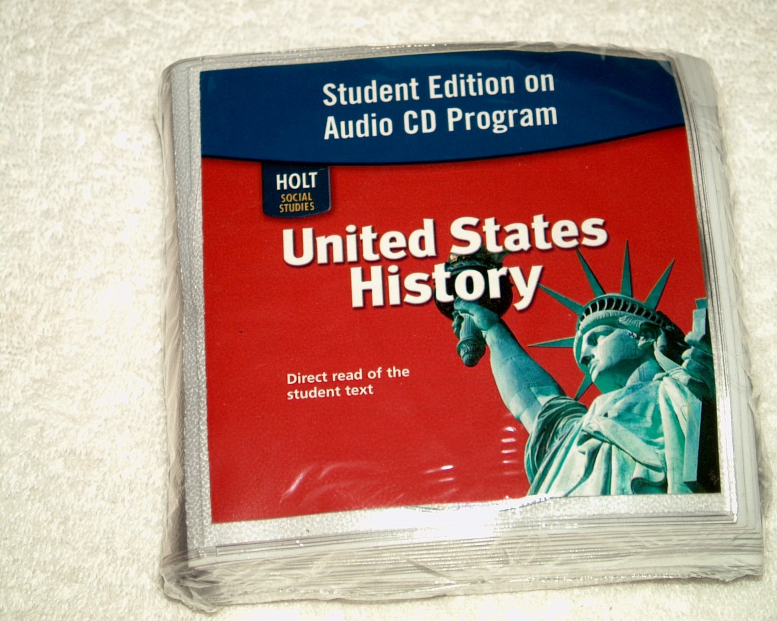 United States History: Student Edition on Audio CD Program