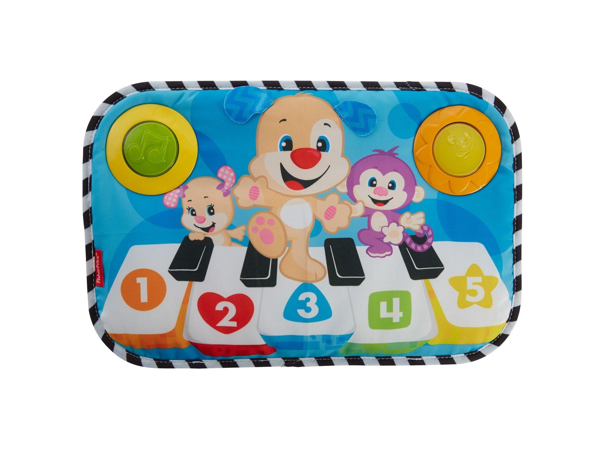 Fisher-Price Piano perrito pataditas, juguete musical para bebé (Mattel FHJ40) product