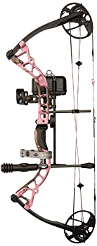 Diamond Archery Infinite Edge Pro Bow Package, Pink Blaze, Right Hand