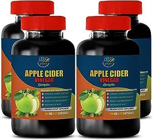 Weight Loss Pills for Women - Apple Cider Vinegar Complex 750 MG - Apple Cider Vinegar Dietary Supplement - 4B (360 Capsules)