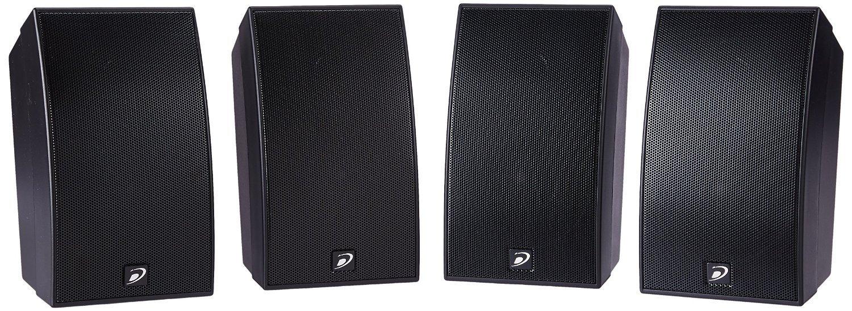 Dayton Audio(デイトン オーディオ) HTS-1200B Home Theater Speaker System Black [並行輸入品] B012V5QM3U