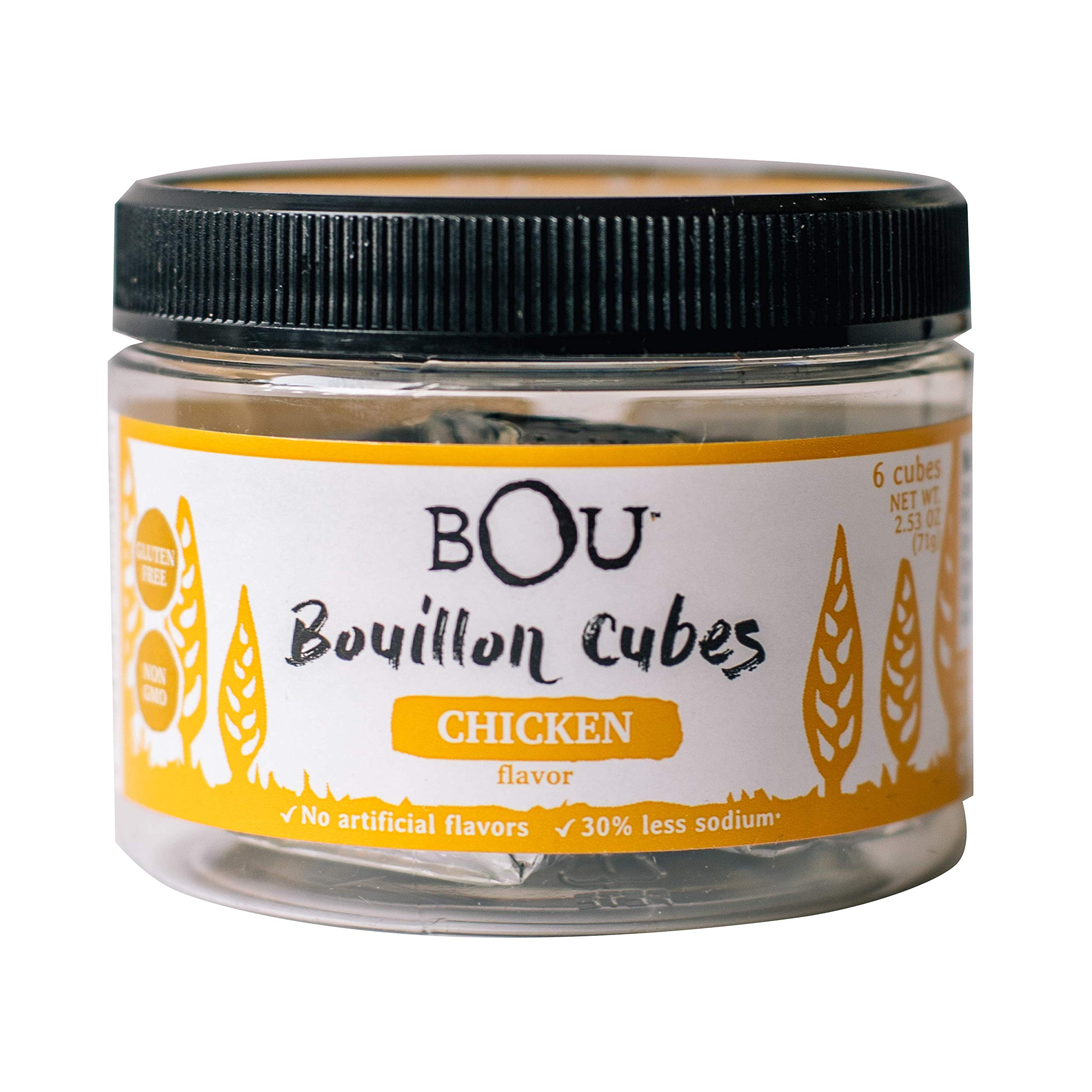 Amazon.com : BOU, Bouillon Cube, Vegtbl, 6Ct, Pack of 6 ...