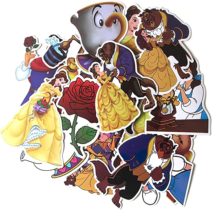 Top 9 Beauty And The Beast Laptop Skin