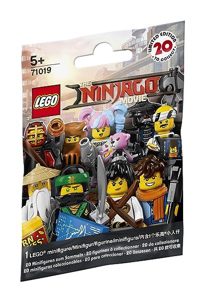 Amazon.com: LEGO Ninjago Movie Minifigure - Blind Bag Pack (71019 ...