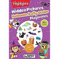 Halloween Hidden Pictures Puffy Sticker Playscenes (Highlights Puffy Sticker Playscenes)