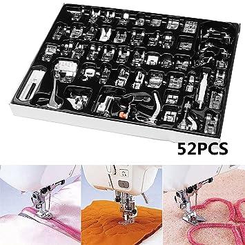 King Do Way 52 naehfuesse naehfuss Kit de accesorios Set para coser presupuesto teflón Fuss Brother