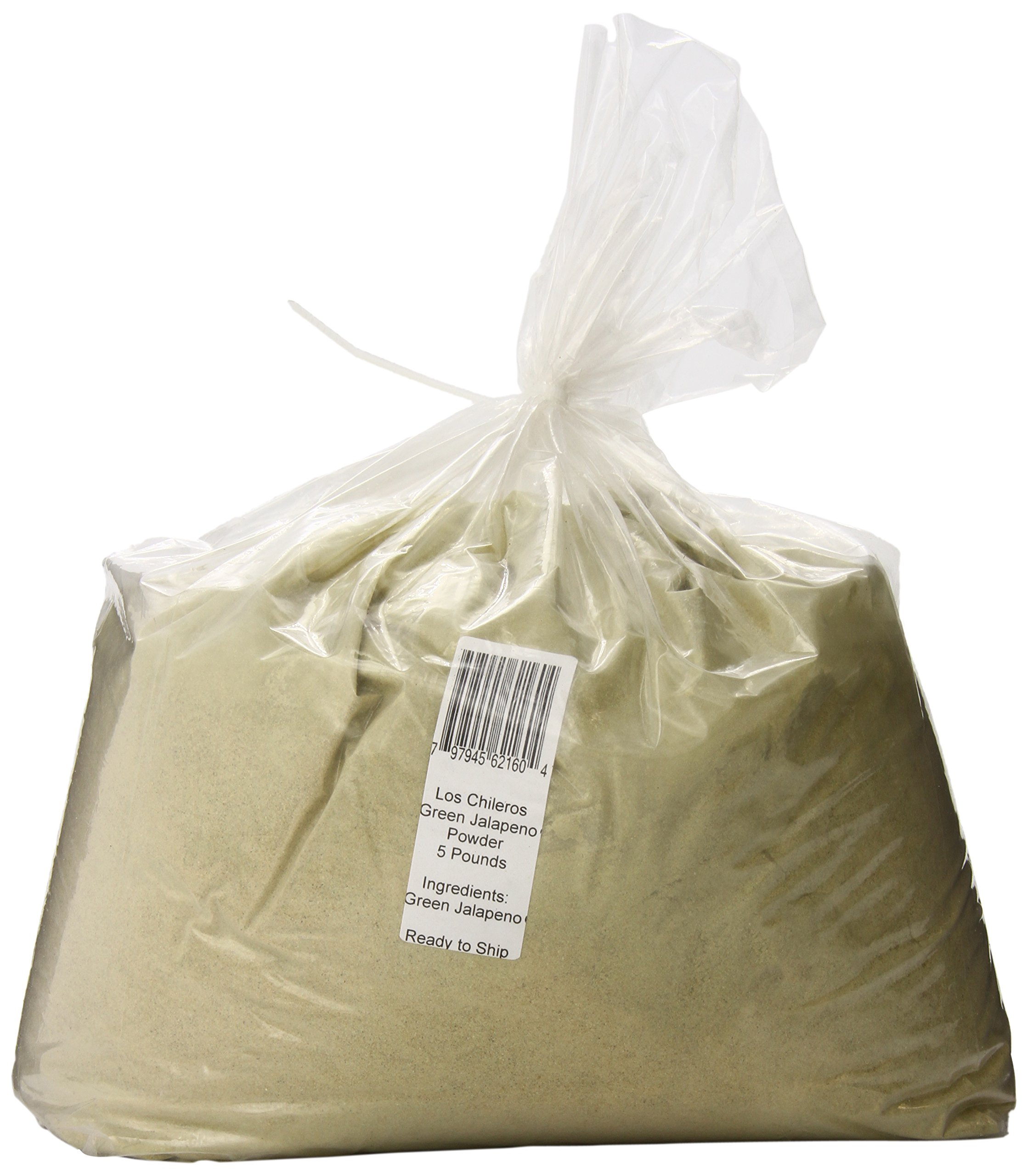 Los Chileros Powder, Green Jalapeno, 5 Pound