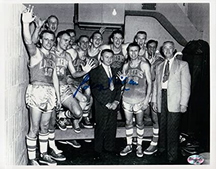 ec166d7b151 Image Unavailable. Image not available for. Color: George Mikan Signed 8X10  Autograph Photo Vintage Lakers ...