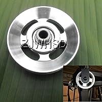 Universel 88mm en aluminium Roulement Poulie de roue pour gym Fitness exercice pièces de rechange d'Abbott