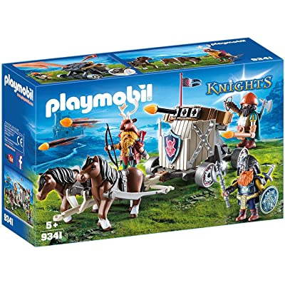 PLAYMOBIL Horse-Drawn Ballista: Toys & Games