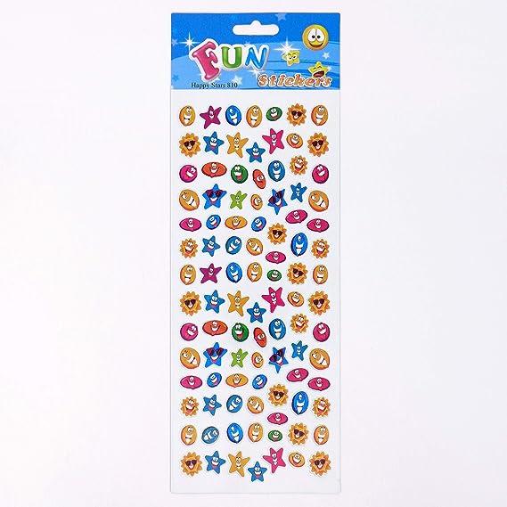 Fun Stickers Happy Stars 810