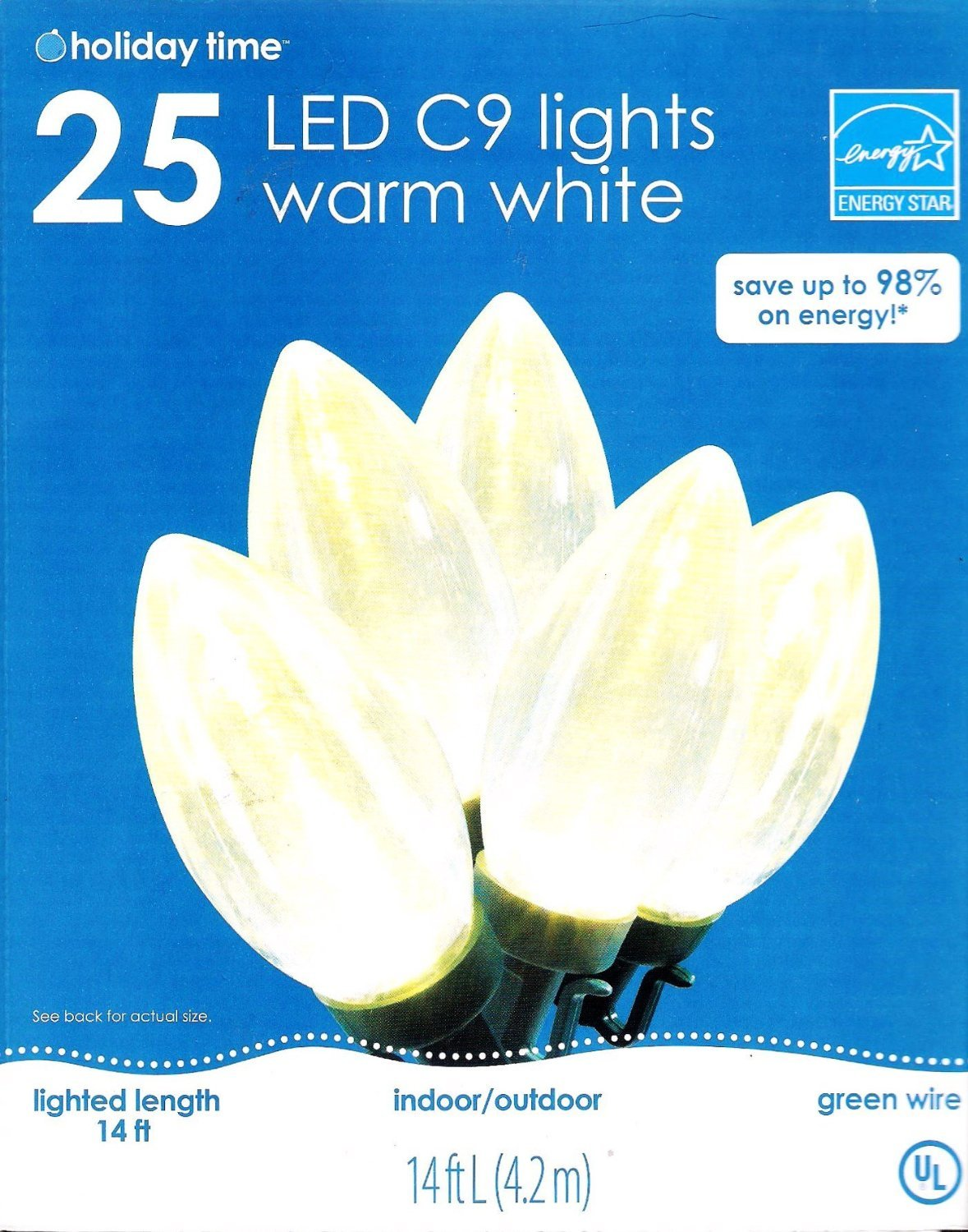 philips outdoor christmas lights part 34 amazoncom philips clear led string - Clear Led Christmas Lights