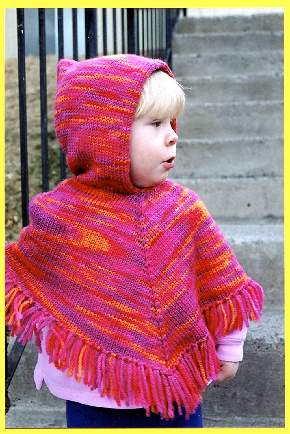 Knitting Pure & Simple Knitting Pattern #243 Children's Poncho