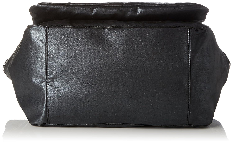 Damen Boudicca Henkeltasche, Schwarz (Black Ink Emb), 46x28x18 cm Kipling