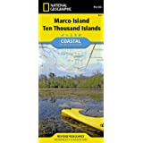 Marco Island, Ten Thousand Islands (National Geographic Trails Illustrated Map)