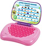 Prasid Lovely English Learner Kids Laptop, Pink/Purple