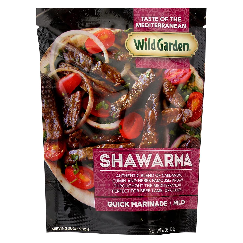 Wild Garden Swawarma Quick Marinade, 6 Ounce - 6 per case.