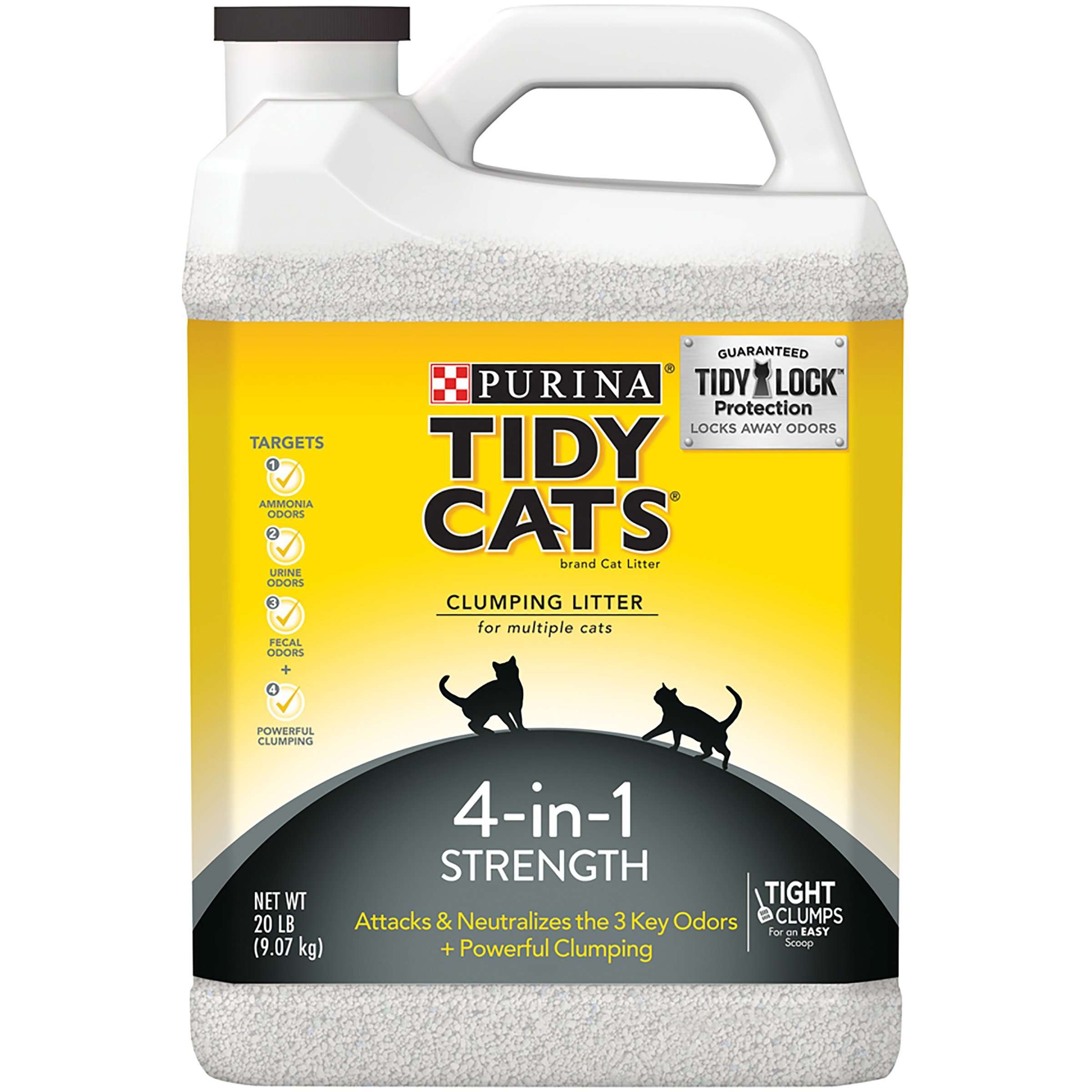 Purina Tidy Cats 4-in-1 Strength Clumping Cat Litter Standard Packaging