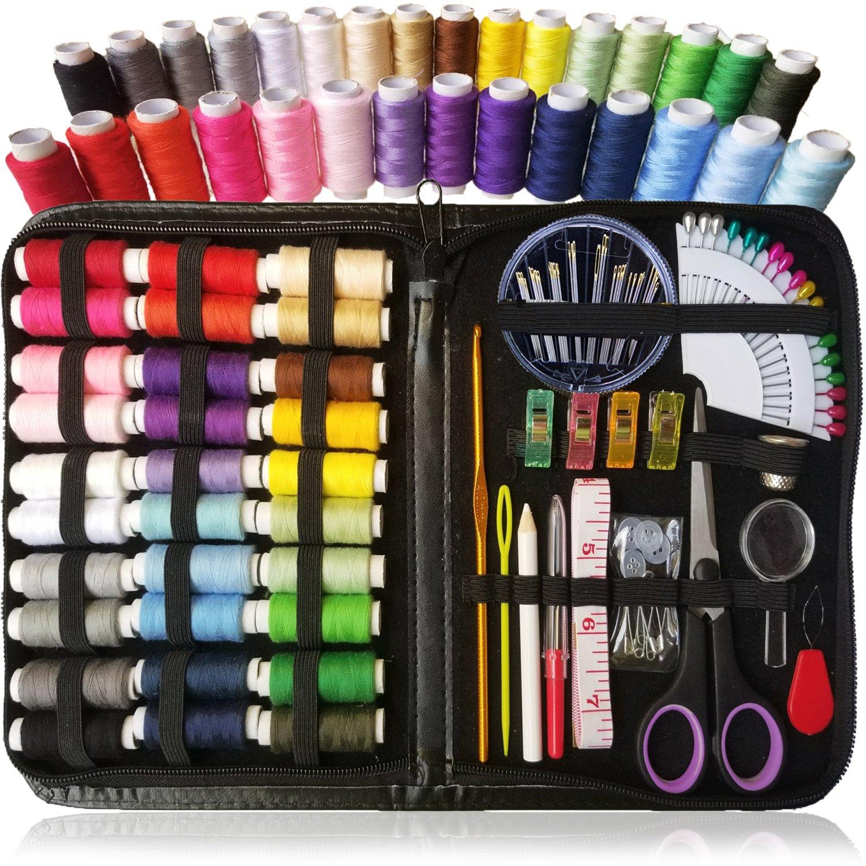 ARTIKA Kit Cucito - 38 Bobine del Filetto - Extra 20 Colori più Utili di Fili, Set Cucito, Sewing Kit (Rainbow) uppex usa 4337017248
