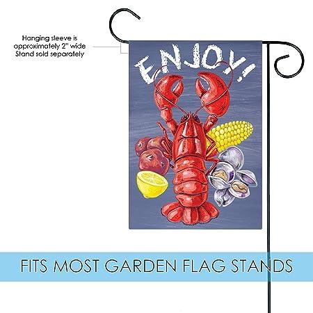 Amazon.com: Bandera de Toland Home Garden langosta Clam Bake ...