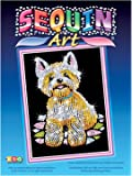 KSG Arts and Crafts Sequin Art 0827 Westie Picture Kit
